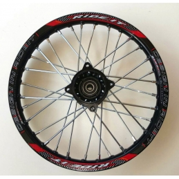 "Cerchio cross 14"" anteriore in  alluminio RIDE IT"